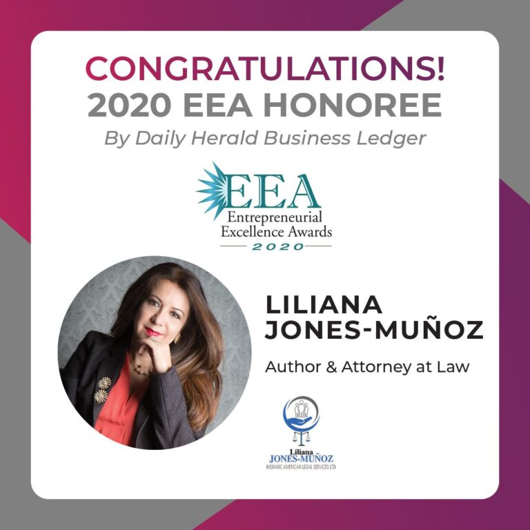 Liliana Jones 2020 EEA Honoree by Daily Harold
